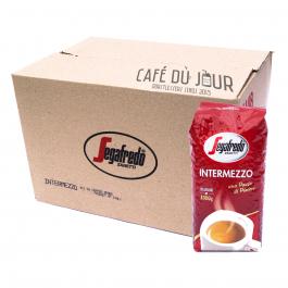 Segafredo Intermezzo koffiebonen 8 x 1 kilo