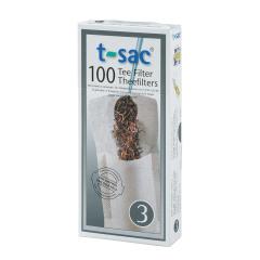 t-sac Theefilters No. 3 - voor 100 x acht koppen thee