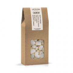 Cashewnoten in witte chocolade 250 gram