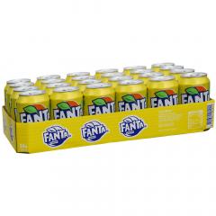 Fanta Lemon 330 ml. / tray 24 blikken