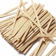 1000 houten roerstaafjes (14 x 0,5 cm)