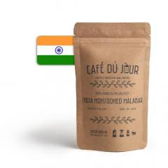 Café du Jour 100% arabica specialiteit India Monsooned Malabar