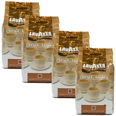Lavazza Crema e Aroma 4 kg koffiebonen voordeeldoos