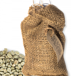 Nicaragua El Capitan 250 gram ongebrande arabica koffiebonen