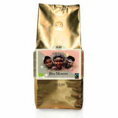 SUN Dark Roast Blue Mountain Biologische Fairtrade koffiebonen 1 kilo