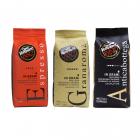 Caffè Vergnano koffiebonen proefpakket 3 x 1 kilo