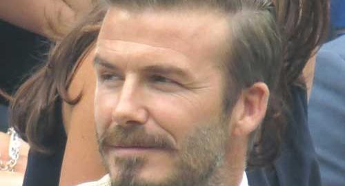 Beckham trakteert op: koffie!