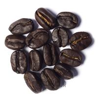 Koffiebonen tijdens de 2e crack